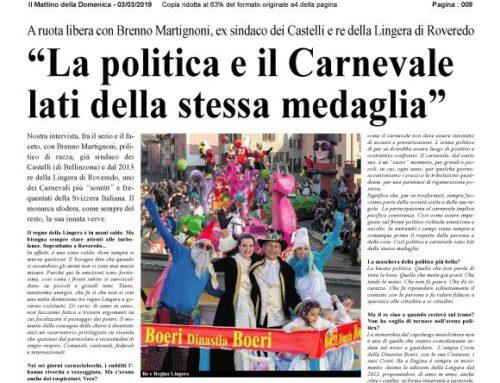 La politica e il Carnevale lati della stessa medaglia
