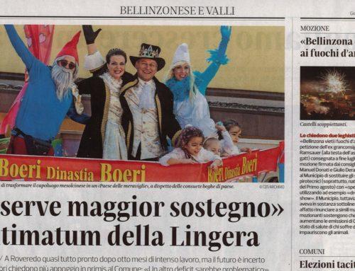"""""""Ci serve maggior sostegno"""" L'ultimatum della Lingera"""