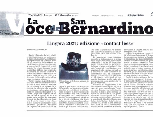Lingera 2021: edizione «contact less»